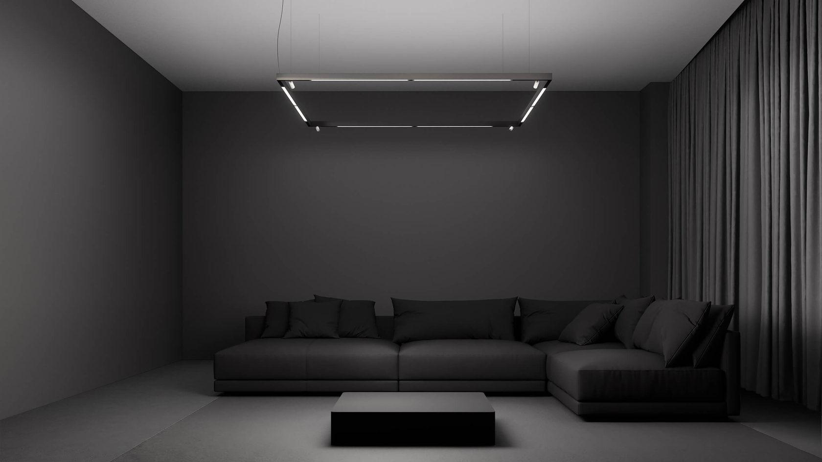 Магнитные трековые светильники в интерьере